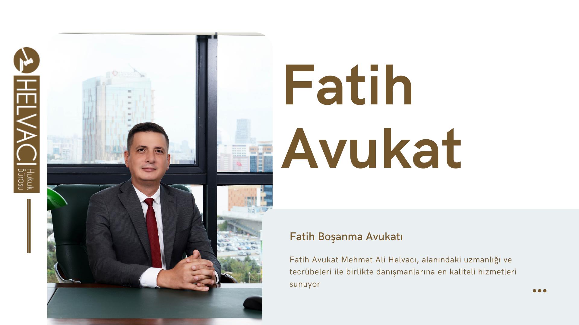 Fatih Avukat